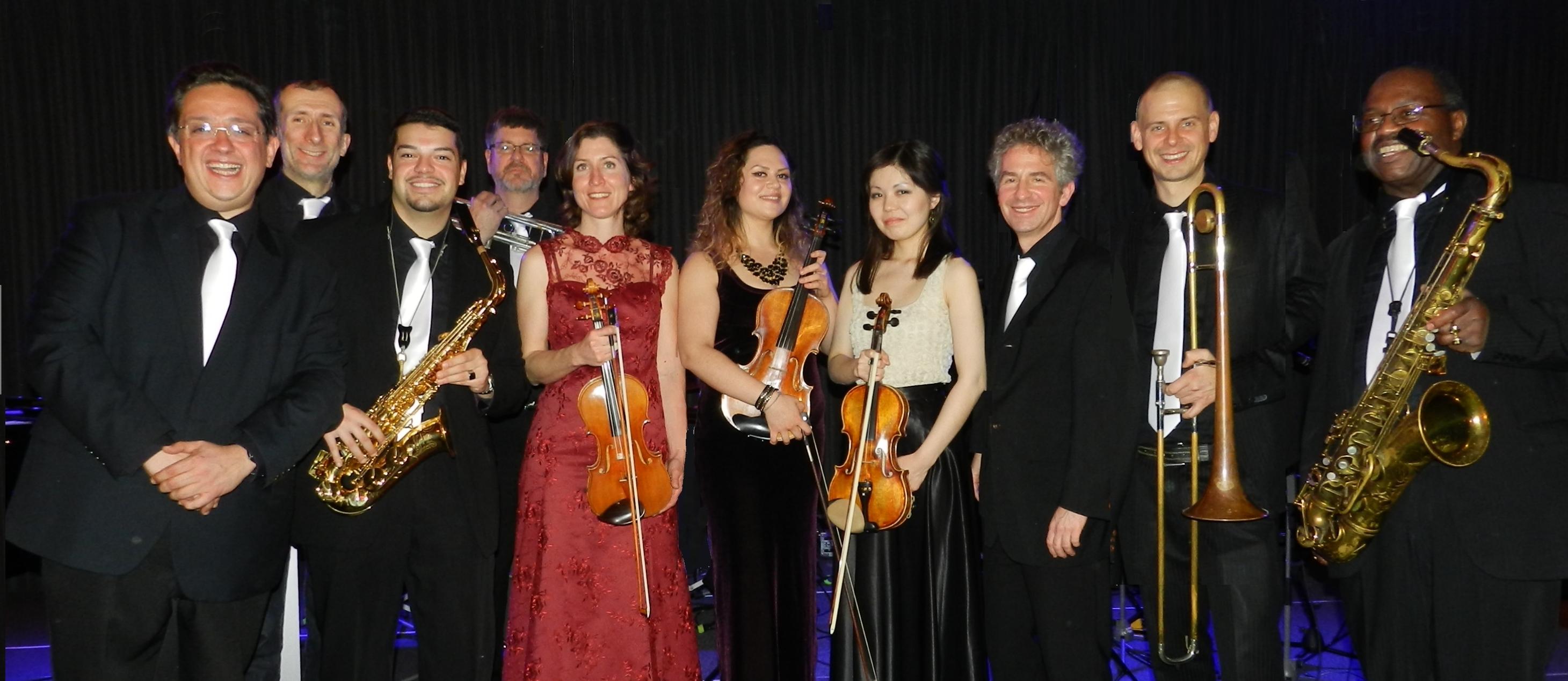 151212 Jazzy Blue Note Orchestra im JazzRadio im Ellington Hotel Berlin_01 @ Ilze Korodi